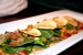 Ensalada de espinacas en Restaurante 69 Pétalos, Madrid