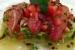 Restaurante centro riojano madrid platos carta caballa en soja y aguacate pescado