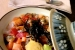 Restaurante Himawari Madrid entrantes comida erizo