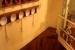 Detalle escalera en Kagura Ramen Madrid