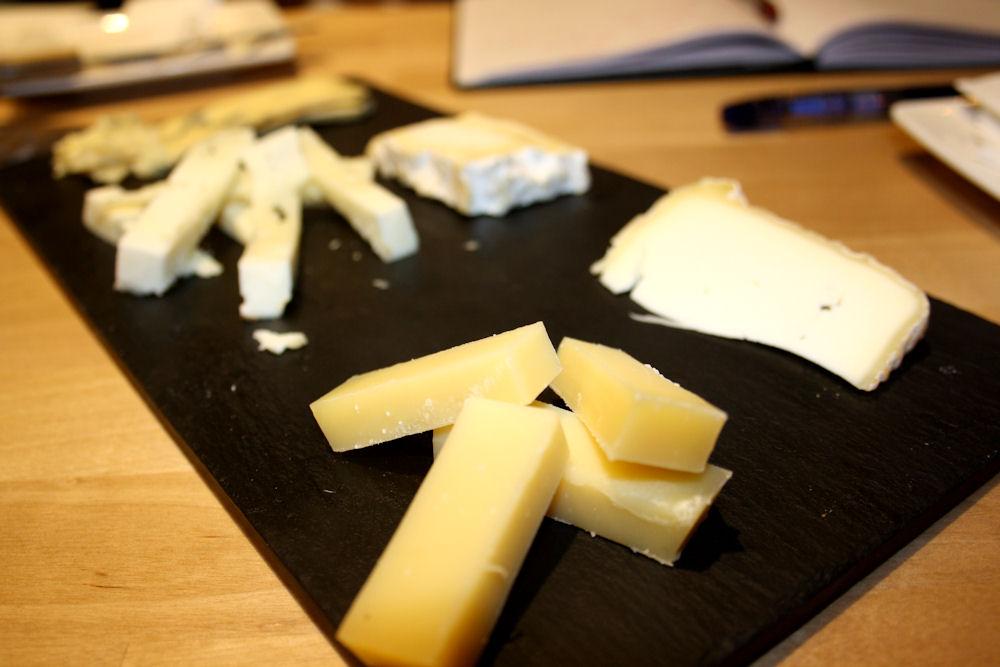 Tabla de quesos en La Girolle de Lola