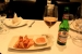 Aperitivo en el restaurante libanes Solidere, Madrid