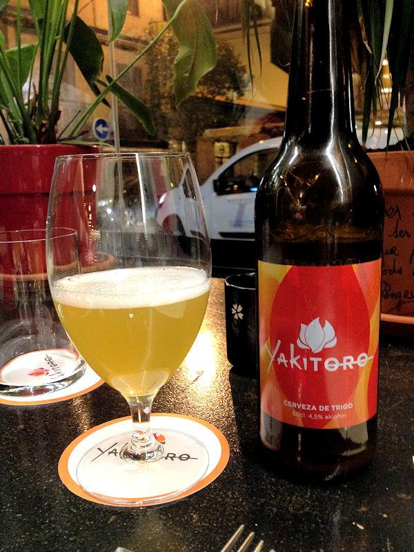 Cerveza de trigo Yakitoro
