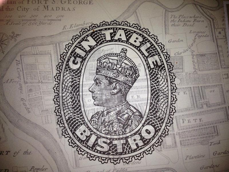 Restaurante Gin Table Bistro